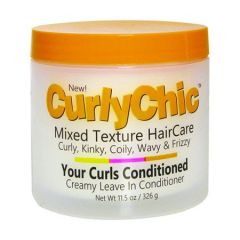 Curly Chic Mixed Texture Haircare Creamy Leave In Conditioner 11.5oz
