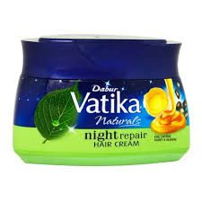 Dabur Vatika Naturals Night Repair Hair Cream 140ml