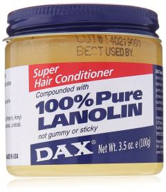 DAX 100% Pure Lanolin Super Hair Conditioner 3.5oz
