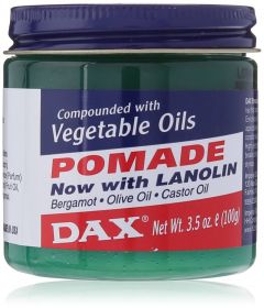 DAX Vegetable Oil & Lanolin Hair Pomade 3.5oz