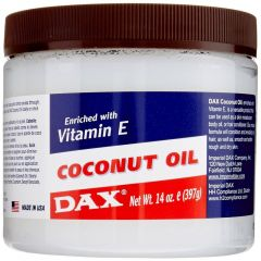 DAX Coconut Oil Jar Enriched with Vitamin E 14oz