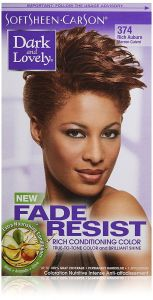 Dark and Lovely Permanent Hair Color Rich Auburn 374