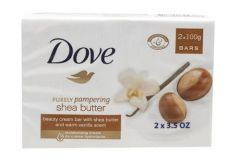 Dove Purely Pampering Shea Butter 2x100g Bars
