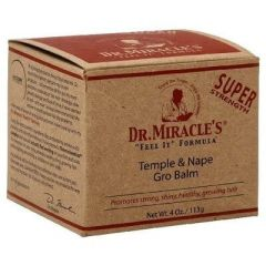 Dr Miracle Temple & Nape Gro Balm 4oz Super