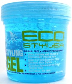 ECO Styler Professional Colour Treated Hair Styling Gel 16OZ Blue