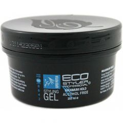 ECO Styler Super Protein Professional Hair Styling Gel 8oz Maximum Hold