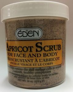 EDEN Apricot Face & Body Scrub 16 oz