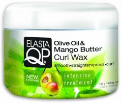 Elasta QP Olive Oil & Mango Butter Curl Wax Jar 5oz