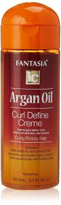 Fantasia IC Argan Oil Curl Define Cream 6.25 Oz
