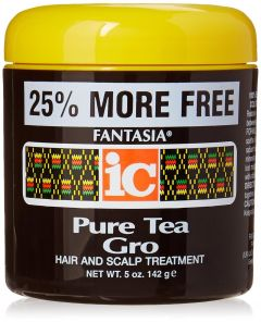 Fantasia IC Pure Tea Gro Hair & Scalp Treatment  Jar 5oz