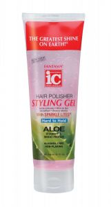 Fantasia IC Hair Polisher Hard to Hold Styling Gel Pink Tube 8oz
