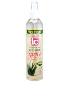 Fantasia IC Aloe Super Hold Polisher Spritz Hairspray 12 oz