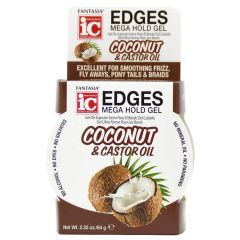 Fantasia Ic Coconut & Castor Oil Edges Mega Hold Gel