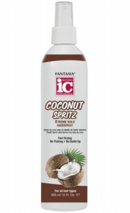 Fantasia IC Coconut Spritz Xtreme Hold Hairspray 12 oz