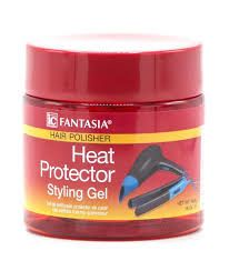 Fantasia IC Hair Polisher Heat Protector Styling GEL