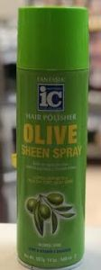 Fantasia IC Hair Polisher Olive Moisturising Sheen Spray 14oz