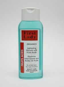 First Lady Organics Fruits Acids Lightening Glycerin 400ML