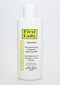 First Lady Organics Fast Actives Lemon Body Milk 750ml