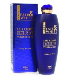 Fair and White Exclusive Whitenizer Body Lotion 500ml Blue