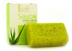 Fair and White Aloe Vera Savon Exfoliating Soap 200g