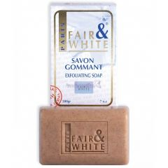 Fair and White Savon Gommant Exfoliating Soap White 200g