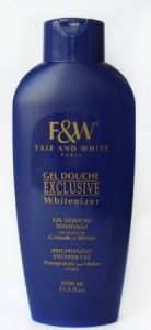 Fair and White Exclusive Whitenizer Brightening Shower Gel 1000ml