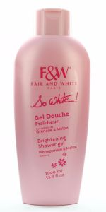 Fair and White So White Brightening Shower Gel 1000ml
