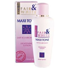 Fair and White Maxi Tone Lightening Lotion 250ml