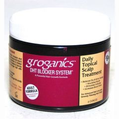 Groganics DHT Blocker System Daily Topical Scalp Treatment 6oz