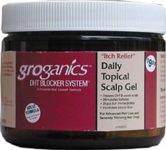 Groganics Itch Relief Daily Topical Scalp Gel 6 oz