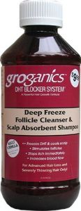 Groganics Deep Freeze Follicle Shampoo 8oz