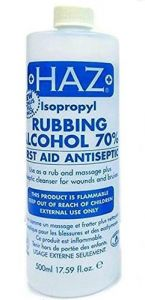 HAZ Isopropyl Rubbing Alcohol 70% First Aid & Antiseptic 500ml