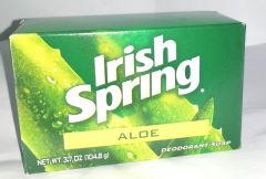 Irish Spring Aloe Deodorant Soap 3.7OZ