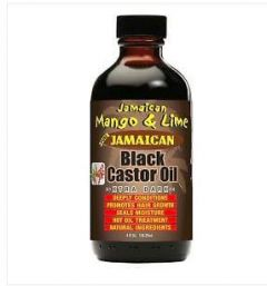 Jamaican Mango & Lime Black Castor Oil Xtra Dark 4 oz