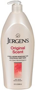 Jergens Original Scent Lotion With Cherry and Almond Essence  32 OZ