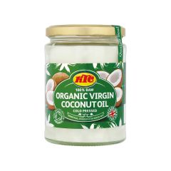 KTC 100% Raw Organic Virgin Coconut Oil Cold Pressed