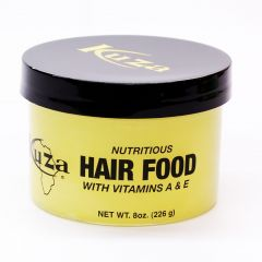 Kuza Nutritious Hair Food with Vitamins A & E (Yellow) 8oz