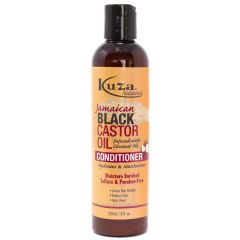 Kuza Jamaican Black Castor Oil Conditioner (Infused with Coconut Oil) 8oz