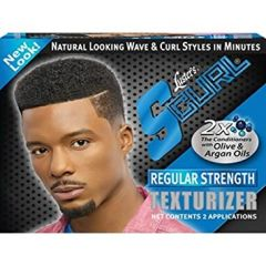 Luster's S Curl Regular Strength Texturizer Kit 2 Application