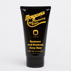 Morgans Pomade Grey Hair Darkening Cream Tube 150ml | Black