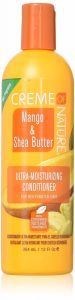 Creme of Nature Mango & Shea Butter Ultra Moisturising Hair Conditioner 12oz