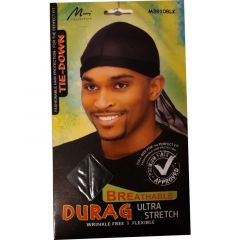 Murry Collection Breathable Durag Ultra Stretch (Black)