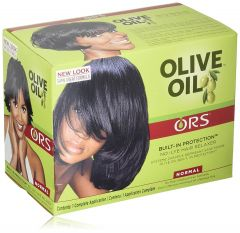 ORS Olive Oil No Lye Hair Relaxer Kit Normal