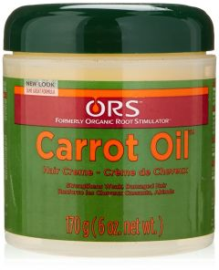 ORS Carrot Oil Hair Creme Jar 6oz Bonus