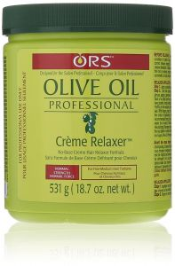 ORS Olive Oil Professional Crème Hair Relaxer Jar Normal Strength 18oz
