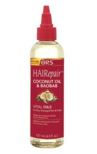 ORS Hair Repair Coconut Oil & Baobab Vital Hair & Scalp Oil 4.3 oz