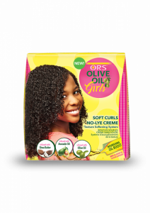ORS Olive Oil Girls No Lye Creme Texture Softening System with Shea Butter, Avocado and Olive Oil