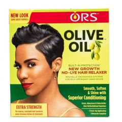 ORS Olive Oil New Growth No Lye Hair Relaxer Kit Extra Strength