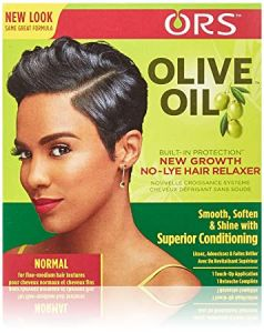 ORS Olive Oil New Growth No Lye Hair Relaxer Kit Normal Strength