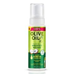 ORS Olive Oil Wrap Set Hair Styling Mousse 7oz